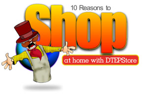10 Reasons to shop at home with dteps.com