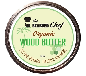 the Bearded Chef Organic Wood Butter 8oz