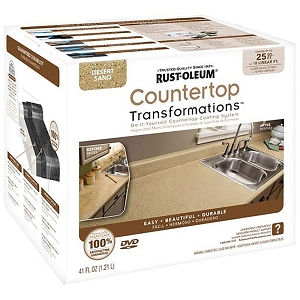Rust-Oleum 258514 Countertop Transformations Desert Sand 41 oz. Kit